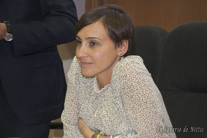 La consigliera regionale Rosa Barone (PH saverio de nittis)