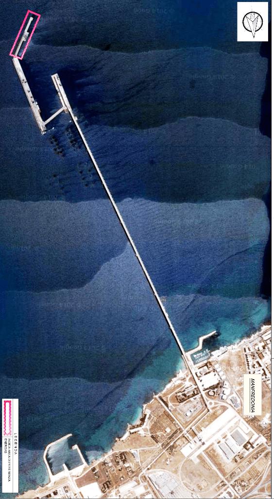 Cartina Pontile Attracco A5 - deposito gpl