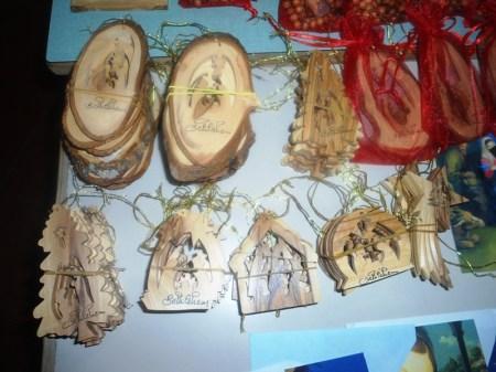 Artistici presepi di Betlemme