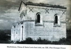 Chiesa di Santa Lucia sulla statale per Foggia