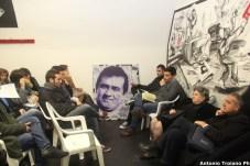 Un recente incontro promosso dal Collettivo InApnea di Manfredonia, inaugurazione sede: il ricordo di Nicola Lovecchio (ph antonio troiano)