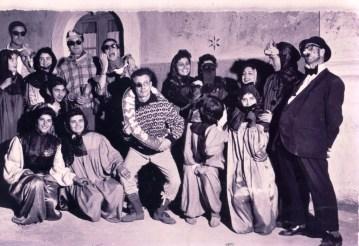 Anni '50-Maschere in corso Roma per il Ballo per casa