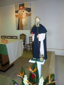 17 Gennaio 2016 -Statuina di S.Antonio Abate fam. Gelsomino nella Chiesa di S.Pio da Pietrelcina