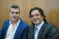 Massimiliamo Ritucci - Gianni Fiore, consiglieri comunali del Movimento 5 Stelle di Manfredonia (ph comune manfredonia)