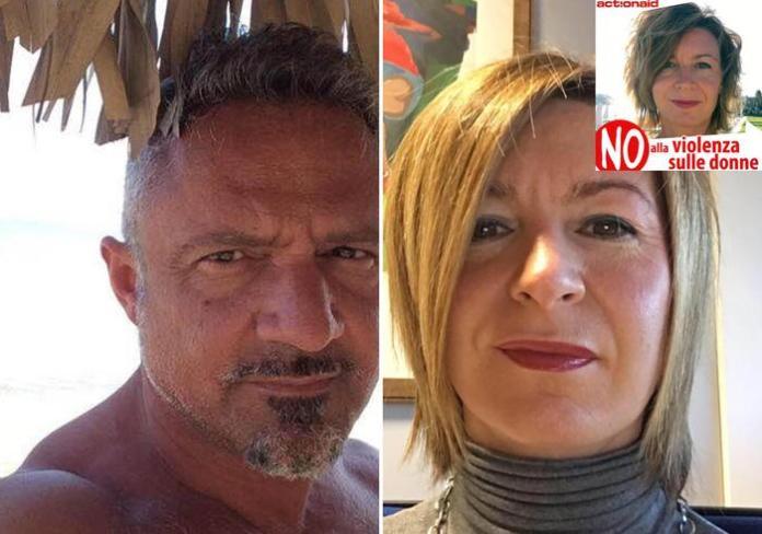 combo Omicidio-suicidio a Parma: da sx paolo cocconi - arianna rivara (PH ansa)