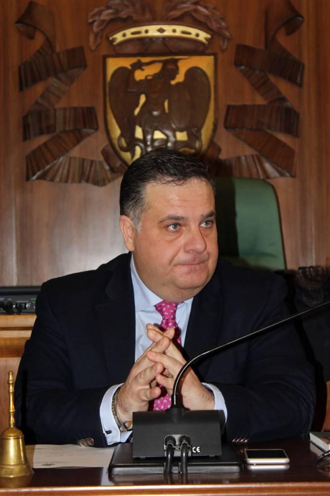 Il presidente della Provincia Miglio (ph enzo maizzi)