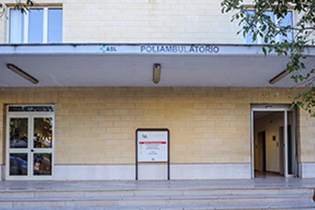 Poliambulatorio Manfredonia. VIA BARLETTA .
