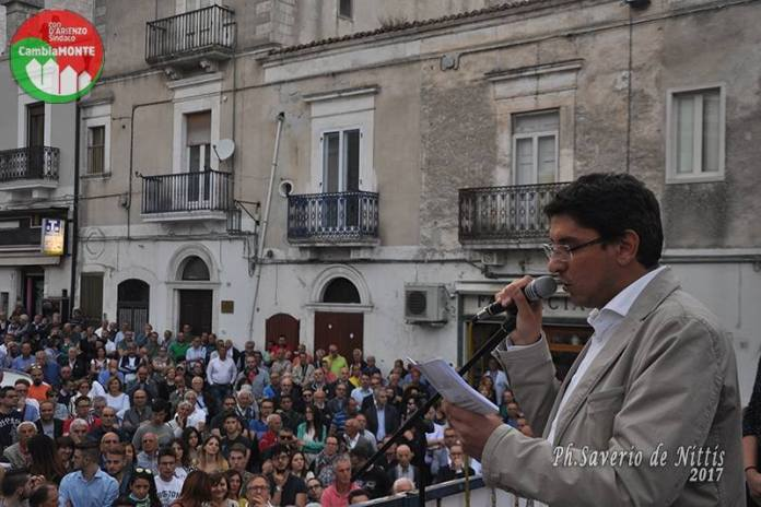 PIERPAOLO D'ARIENZO, NEO SINDACO DI MONTE SANT'ANGELO (PH SAVERIO DE NITTIS)