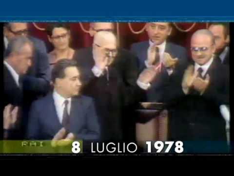 8 luglio 1978 Sandro Pertini eletto Presidente