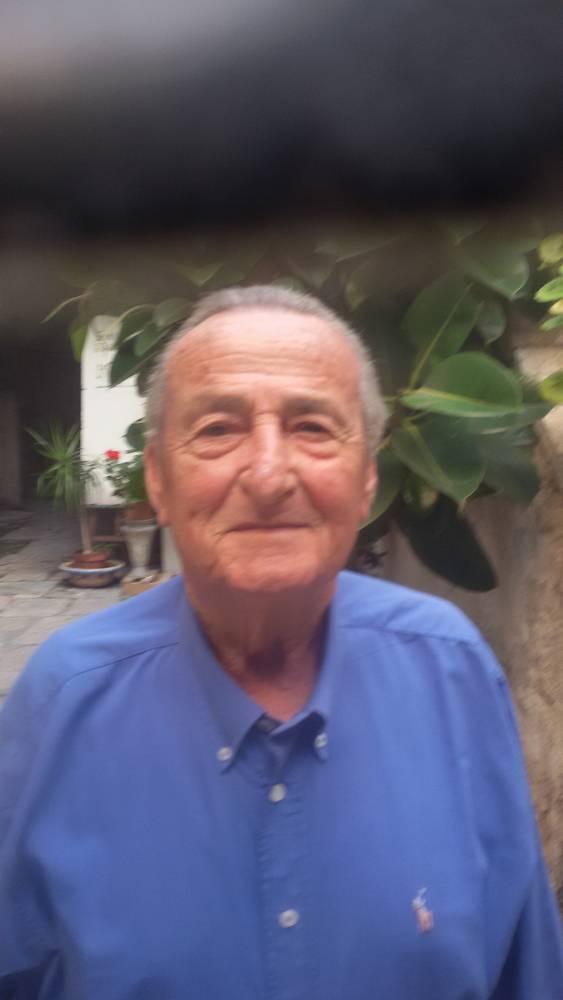 L'ex Commissario di P.S. Nicky Di Staso-oggi 81 enne in pensione-Vive a Livorno