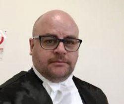 L'avvocato del foro di Foggia Pierpaolo Fischetti