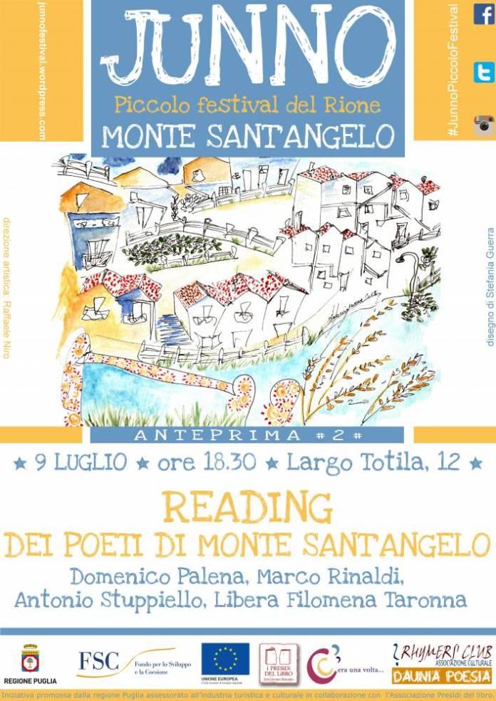 junno reading poeti di monte 9 luglio