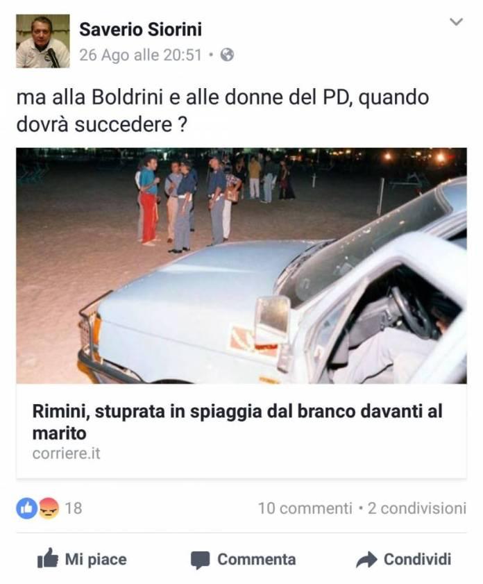 IMMAGINE INVIATA DAL PD DI SAN GIOVANNI ROTONDO (SCREENSHOOT)