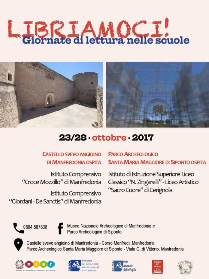 Castello di Manfredonia e Parco di SIponto Libriamoci 2017(1)