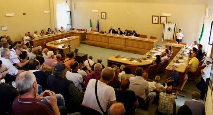 Consiglio comunale Monte Sant'Angelo (immagine in allegato al testo)