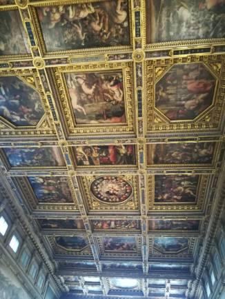 Firenze-Soffitta Salone dei Cinquecento