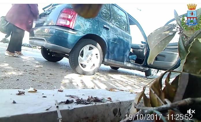 FRAME DAL VIDEO POSTATO SUL PROFILO FACEBOOK DEL SINDACO DI MANFREDONIA