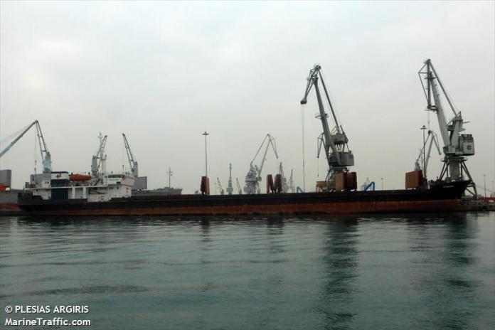 Plesias Argiris - marinetraffic.com