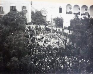 IV Novembre 1921-Piazza Municipio-Commemorazione dei caduti in guerra - 1° Conflitto mondiale
