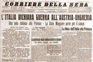 Dichiarazione di guerra dell'Italia all'Austria-Ungheria