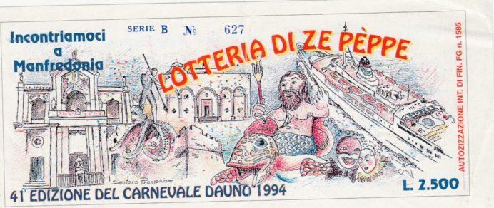 Carnevale 1994- Lotteria di Zepèppe