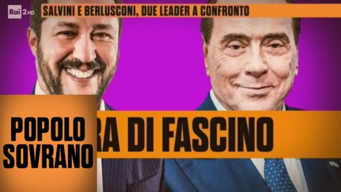 Salvini e Berlusconi: due leader a confronto