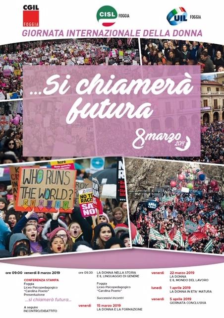 manifesto unitario 8 marzo 2019