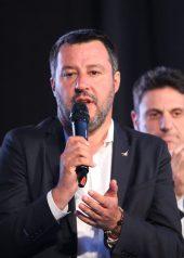 SALVINI A FOGGIA (PH ENZO MAIZZI, 21.12.2019)