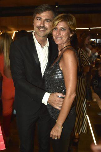 Beppe Convertini e Valentina Bisti