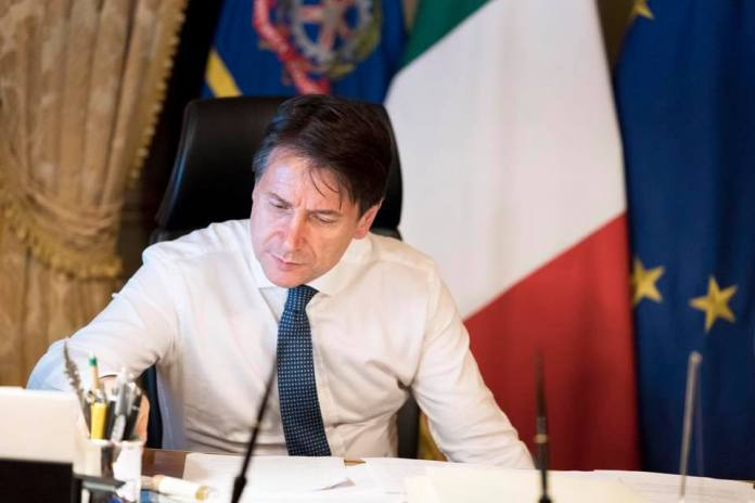 Giuseppe Conte dal suo profilo Facebook