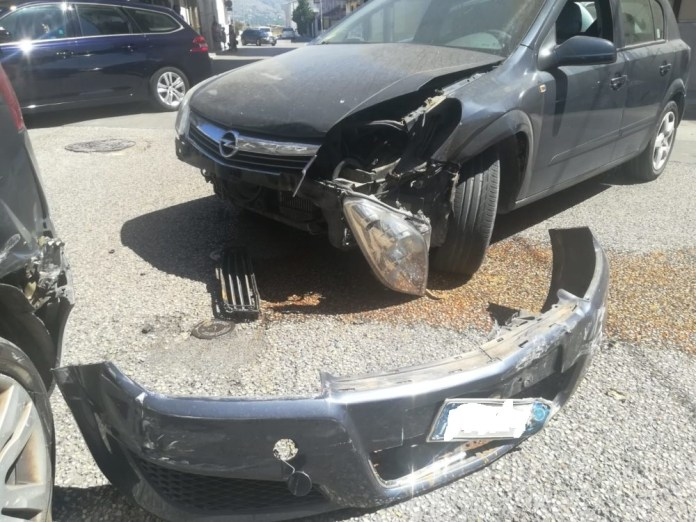 Manfredonia. Incidente stradale in via Barletta: un ferito