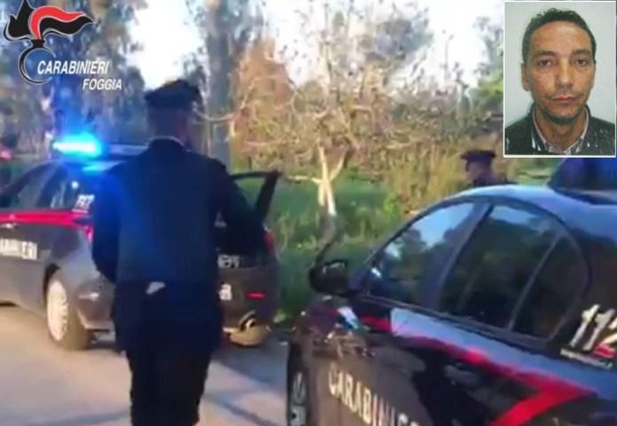 INDAGINI CARABINIERI (immagine relative all'operazione dell'aprile 2019) e l'imputato Matteo Lombardi (combo SQ)