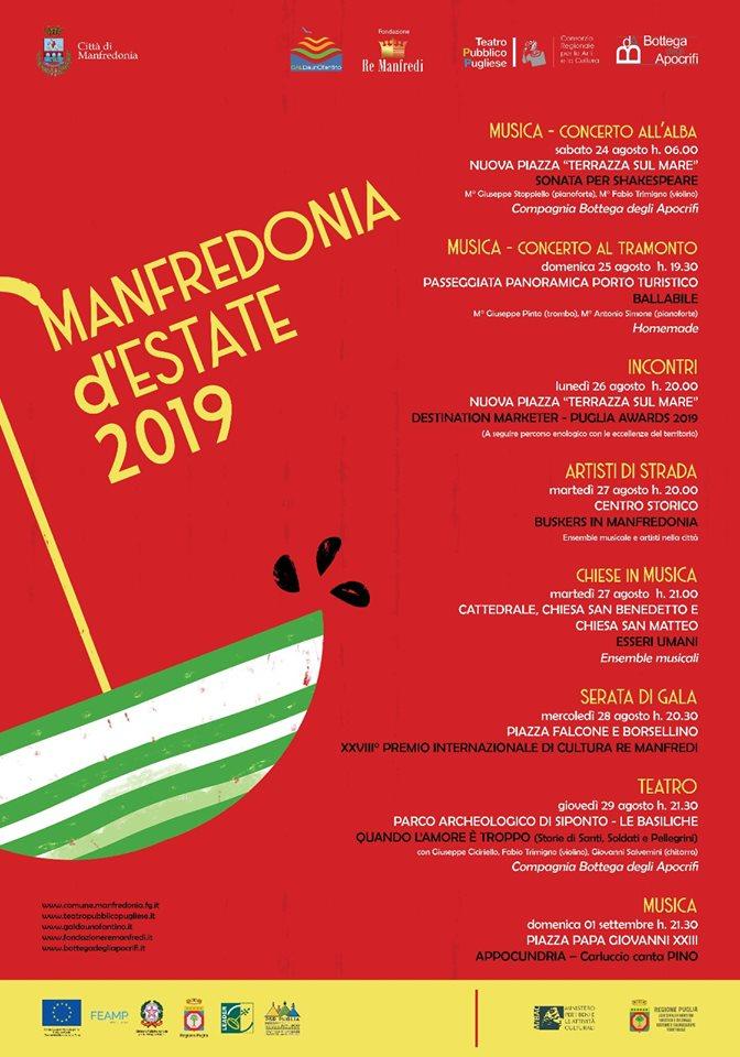 programma manfredonia d'estate 2019