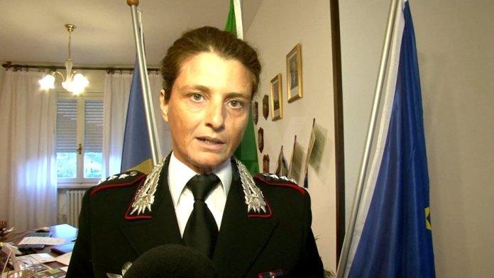 CAPITANO SILVIA GUERRINI, NUOVO COMANDANTE DEL NOE DI BARI