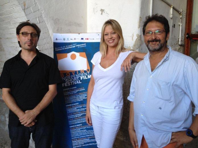 [Nella foto che illustra il post, Alessandro Valori (a destra) con Francesco Colangelo e Anna Falchi, in un evento del Bovino Independent Short Film Festival]
