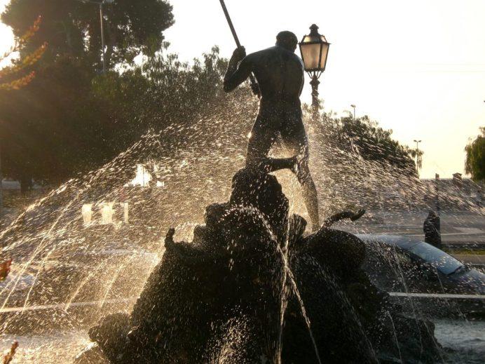 Piazza Marconi-Fontana del Pescatore-ph Franco Rinaldi
