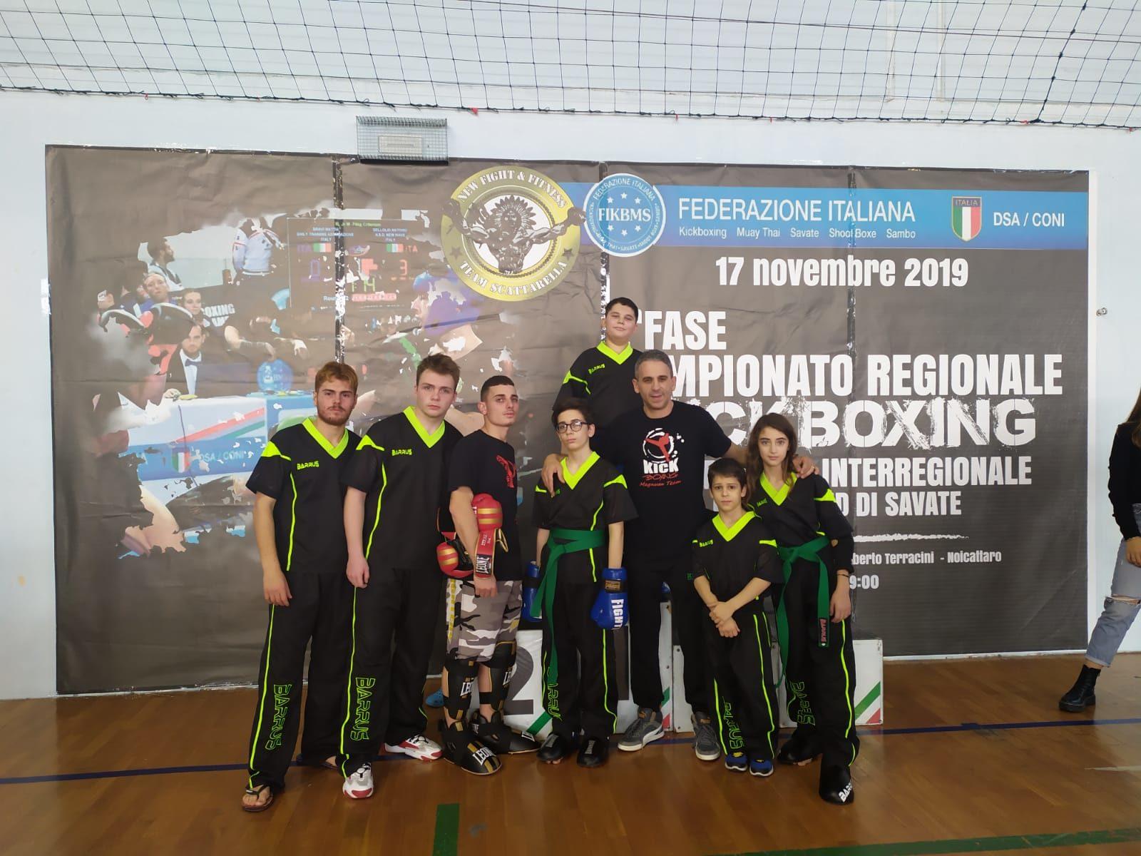 Manfredonia. Campionato regionale kickboxing Fikbms, Noicattaro: Magnum prevale - StatoQuotidiano.it