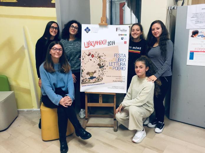 Studentesse del Liceo Poerio di Foggia tra le protagoniste della Festa del Libro del 16-11-2019