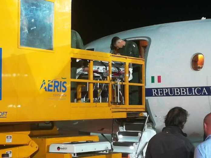 Ragazzino punto da razza in Costa Rica trasportato in Italia (ph ANSA)