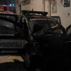 INCENDIO AUTO CIVILIS MANFREDONIA (PH STATOQUOTIDIANO)
