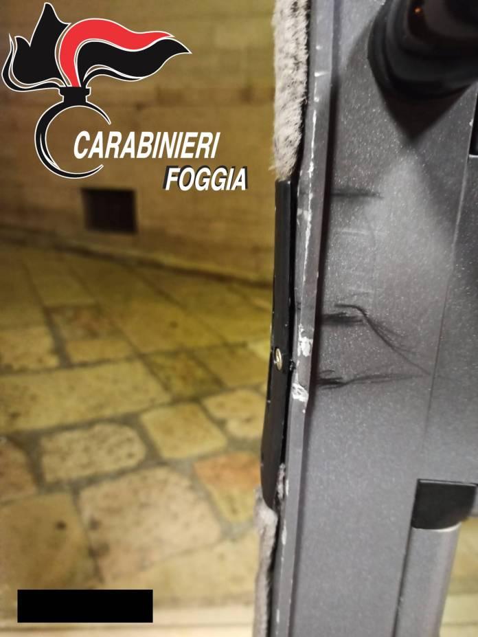 TENTATO FURTO IN UNA CINEMA DI SAN GIOVANNI ROTONDO (CC FOGGIA, 14.01.2020)