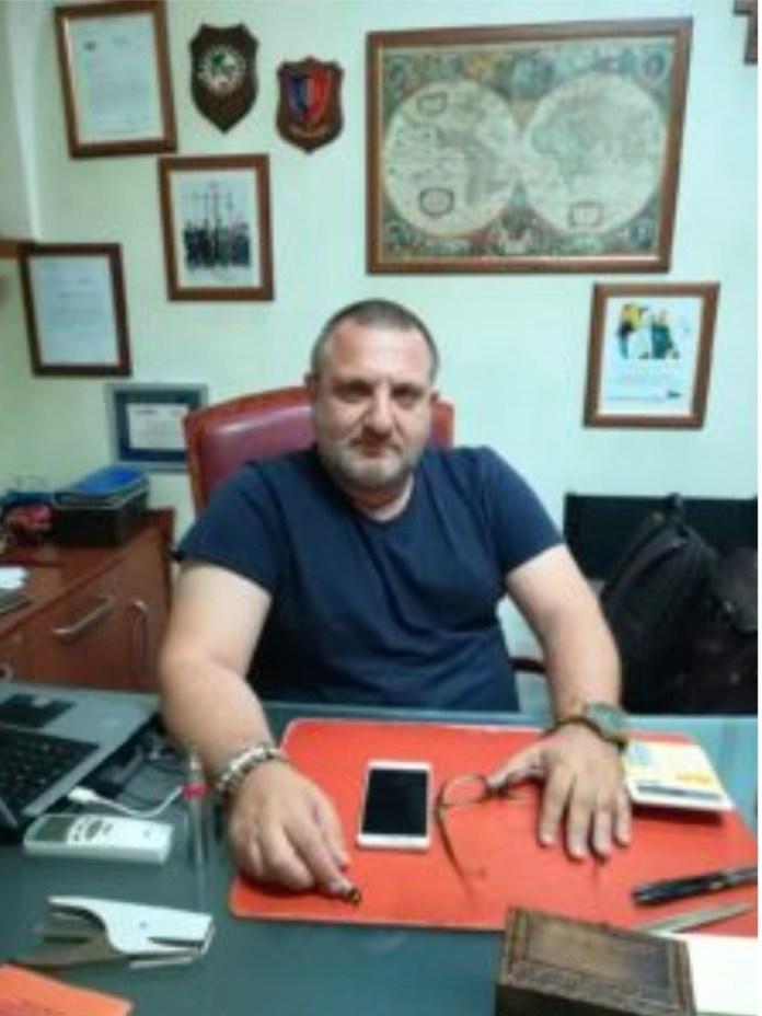 L'imprenditore Antonello Scarlatella (SQ 2020)