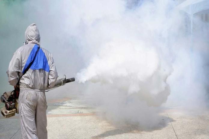sanificazione con ozono (immagine d'archivio, non riferita al testo)