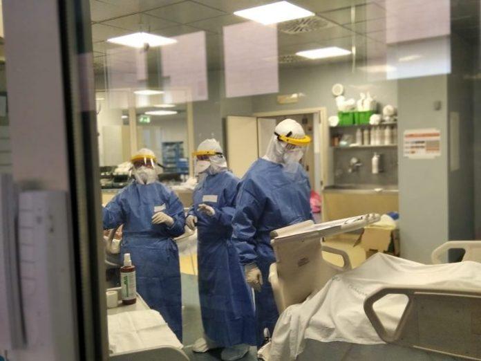 Coronavirus: terapia intensiva ospedali Puglia (ph ANSA PUGLIA)
