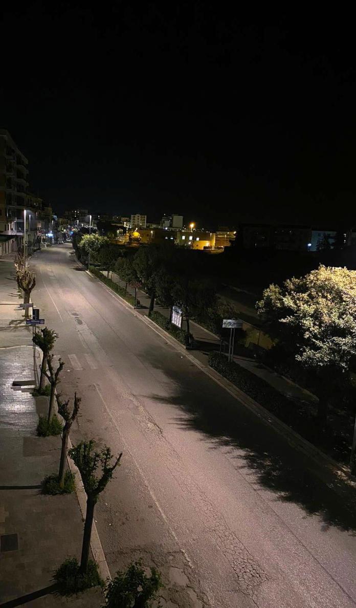 MANFREDONIA, NOTTE (12.04.2020)