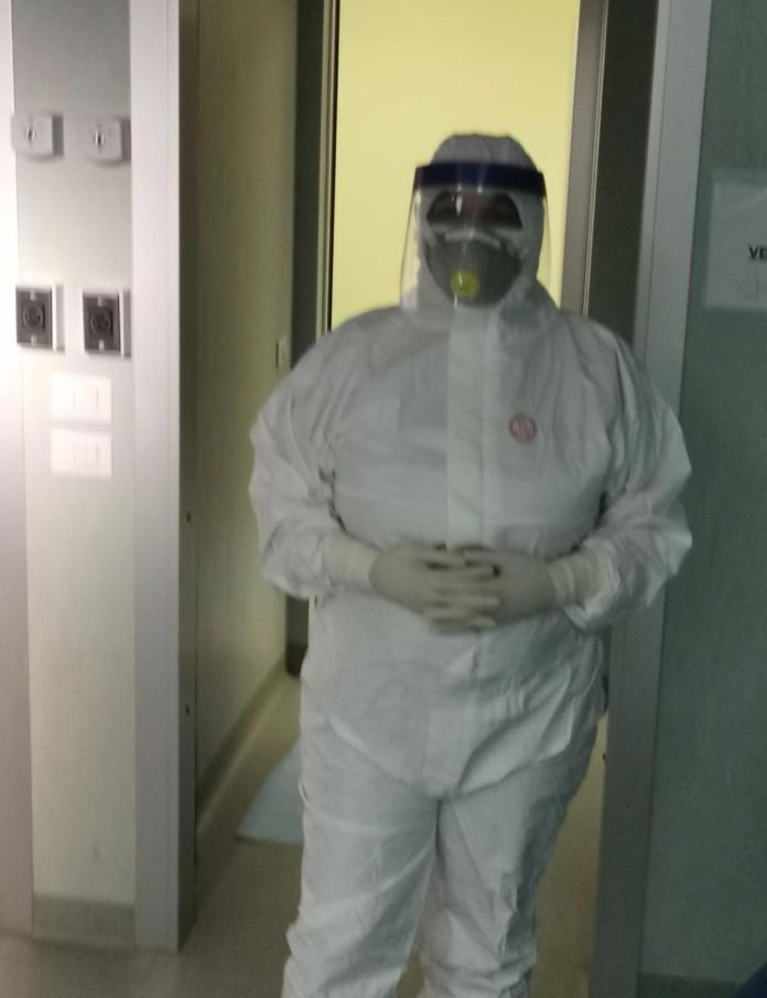 la Responsabile della sperimentazione clinica con ossigeno-ozonoterapia Prof.ssa Lucia Mirabella