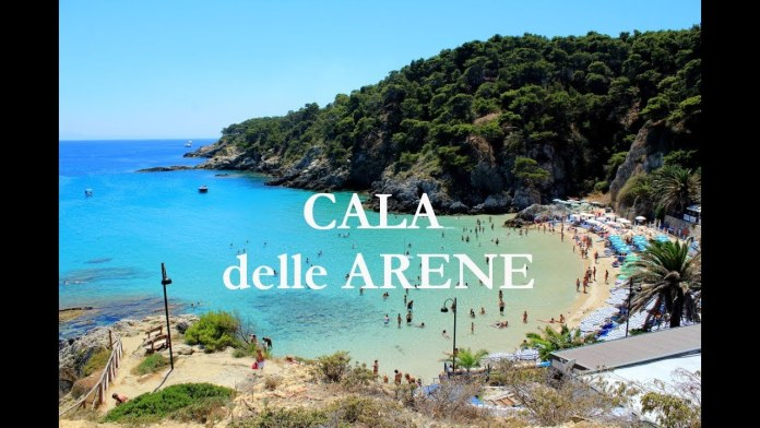 """CALA DELLE ARENE"" ISOLE TREMITI (from youtube)"