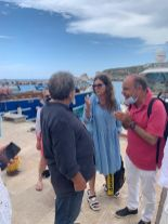 Turisti sul Gargano