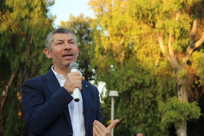 Ivan Scalfarotto, candidato alla presidenza della Regione Puglia