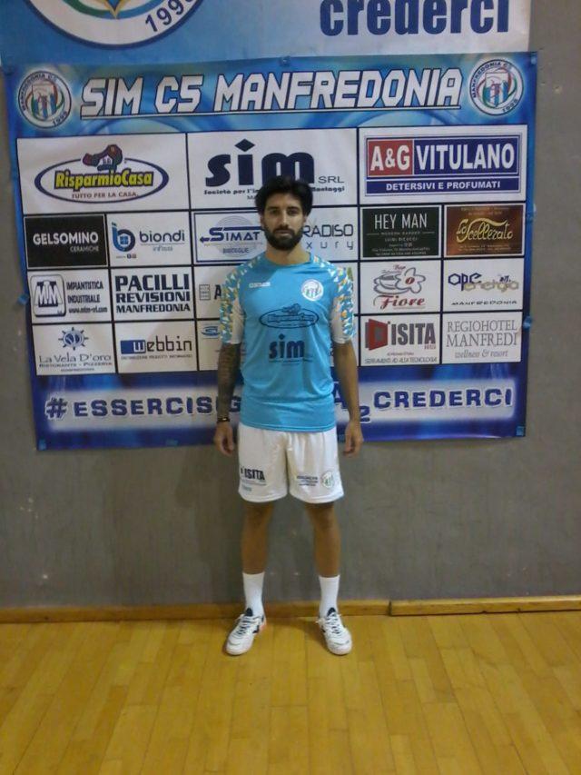 Manfredonia, 30 settembre 2020. Anche quest'anno, il forte centrale difensivo Augustin Pablo Crocco, resterà un giocatore del Risparmio Casa Vitulano